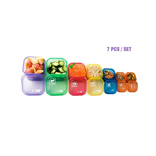 21 Day Meal Portion Containers and Food Plan – Portion Control Containers by GAINWELL 41JlE5mXxLL