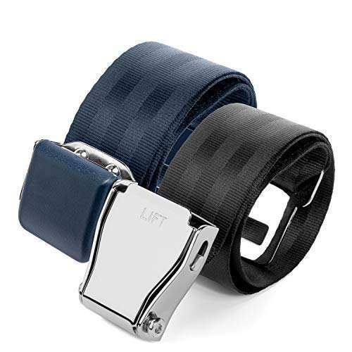 (2 Mirone Adjustable Airplane Seat Belt Extenders Extension for All Airlines (7-32 Inch), E-9 Safety Certified (Type A & B))