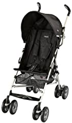The Chicco Ct 0.6 Lightweight Stroller is equipped with a padded five-point harness, multi-position reclining seat, and an adjustable, removable canopy. All-wheel suspension and locking front swivels help maintain a smooth ride from surface t...