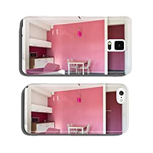 Pink studio house cell phone cover case Samsung S6