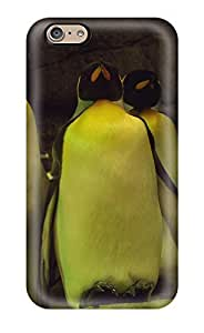 Flexible Tpu Back Case Cover For Iphone 6 - Sleeping Penguins