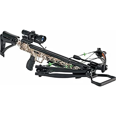 Carbon Express PileDriver 390 Crossbow Package w/ Cranking Device 20310