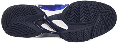 Mizuno Wave Exceed Ac - Zapatillas de tenis Hombre Multicolore (StrongBlue/White/DressBlues)