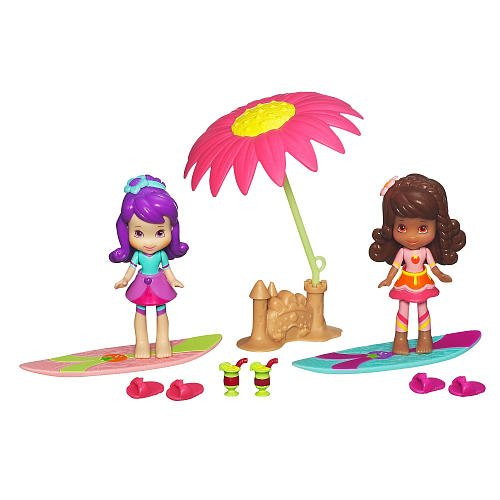 (Hasbro, Strawberry Shortcake, Celebration Playpack, Sun-Lovin' Beach (Plum Pudding, Orange Blossom, and DVD), 3 Inches)
