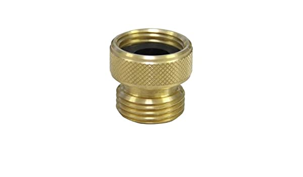 Green Flow Regulator Not Plated Neoperl 30 0620 5 3//4 PCA Garden Hose Adapter 1.5 GPM Maximum Flow Rate Not for Drinking Water Female 3//4 x Male 3//4