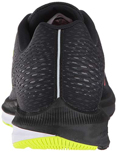 Nike Men's Air Zoom Winflo 5 (Black/Bright Crimson-Volt, 8.5)