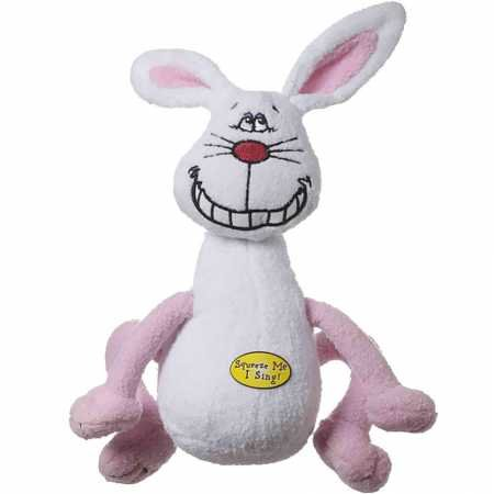 "Multipet Deedle Dudes Rabbit Dog Toy 8"" $1.57 + FREE $1 Shipping Credit"