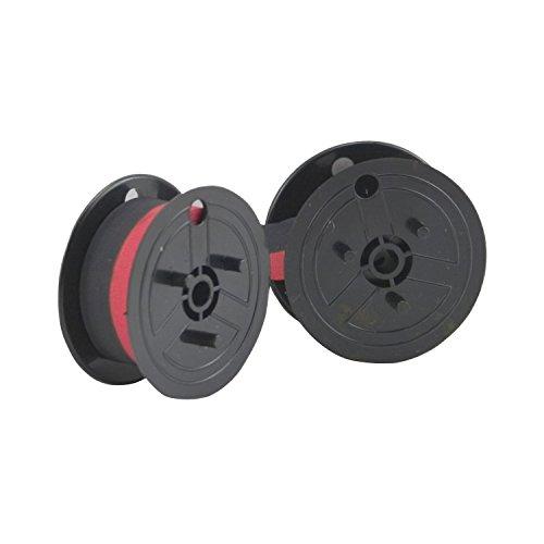 - Porelon 11210 Black/Red Calculator Twin Spool Ribbon
