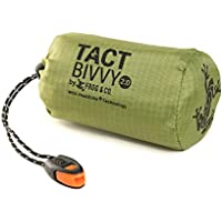 Tact Bivvy 2.0 Emergency Sleeping Bag, Compact Ultra Lightweight, Waterproof, Thermal Bivy Sack Cover, Emergency Shelter…