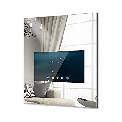 MOOWIM Smart Mirror 18.5 Inch Display Touch Screen with Wifi ( Android 5.1OS, Display area 18.5 inch, Mirror W600 x H800 mm)