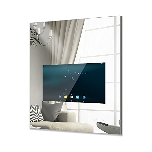 MOOWIM Smart Mirror 18.5 Inch Display Touch Screen with Wifi ( Android - Smart Mirrors Bathroom Wifi