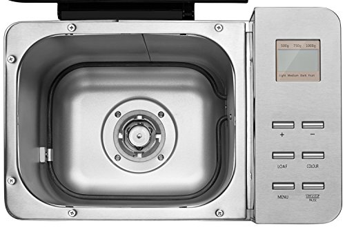 Automatic Maker, Aicok 2.2LB Stainless Bread Machine