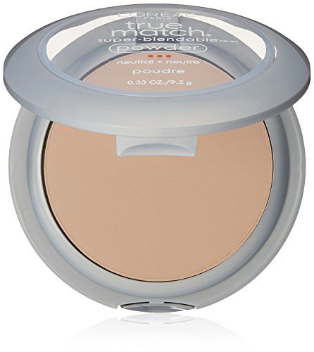 (L'Oréal Paris True Match Super-Blendable Powder, Classic Ivory, 0.33 oz.)