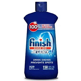 Finish Jet-Dry - Abrillantador de enjuague, 16 oz, para ...