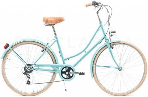 Capri Bicicleta Urbana Valentina Aquamarina 6 Velocidades: Amazon ...