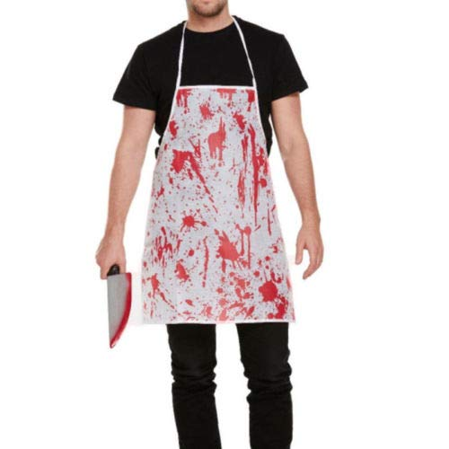 Chef Apron Set Apron Set Hot Bloody Apron Blood Splatter Halloween Horror Nurse Surgeon Dress Costume Set Chef hat -