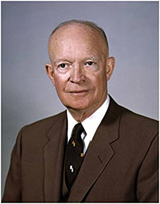 DWIGHT D. EISENHOWER Official Presidential White House Photo