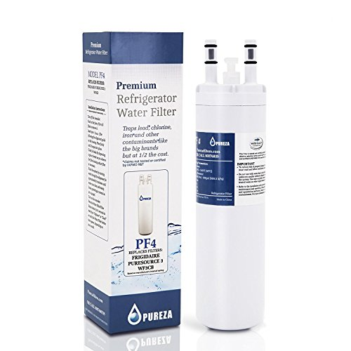 Pureza WF3CB Unqualified source 3 Replacement for Frigidaire WF3CB Puresource Refrigerator Water Filter, 1 Pack