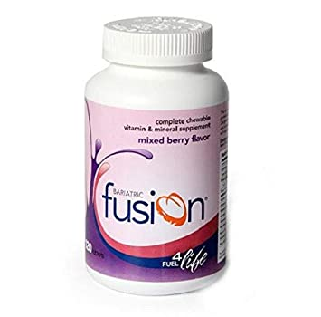 newest 5ddd1 67f47 Bariatric Fusion  Complete Chewable Vitamin and Mineral Supplement Mixed  Berry Flavor Tablets, 120 Tablets