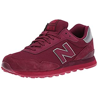 New Balance Men's 515 V1 Sneaker, Garnet/Neo Crimson, 18 M US