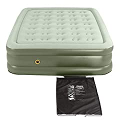 Designed for both indoor and outdoor use, the Coleman SupportRest Double-High Air Mattress is perfect for houseguests or to take on camping trips. Bonus? You'll get out of bed with ease in the morning thanks to the extra height.