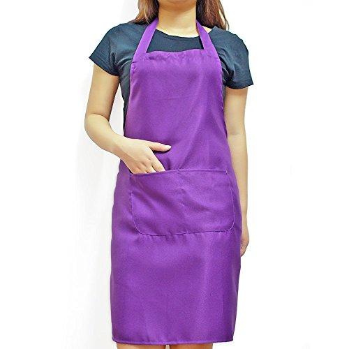 baking apron purple - 6