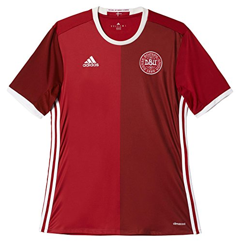 adidas Men's Soccer Denmark Home Player Jersey (Small) (Home Jersey Adidas Denmark)