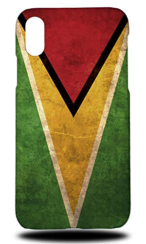 Guyana Country Flag Hard Phone Case Cover for Apple iPhone XR ()