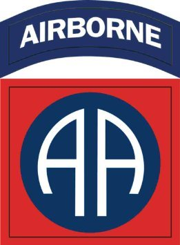 Vinyl USA US Army 82nd Airborne Division Patch Decal Sticker 5.5