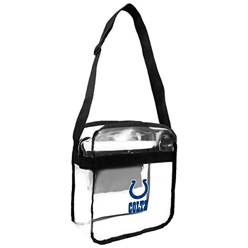 Nfl Sports Bag Purse (NFL Indianapolis Colts Clear Carryall Crossbody Purse)