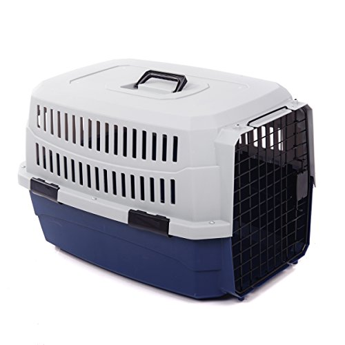 Favorite Portable Travel Pet Carrier, Blue, Large - Replacement Dog Crate Handles