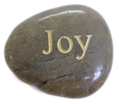 Inspirational Message Stones Engraved with Uplifting Words of Wisdom - Joy Fun Stuff