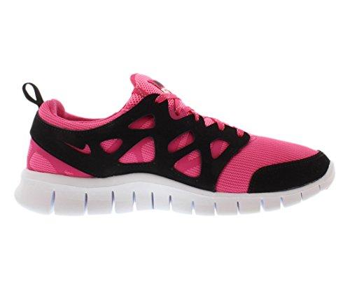 gs Pink 5 Vivid Run Laufschuhe white black pink 2 Free Glow Le Nike 36 FH0Iq0