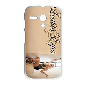 Motorola G Cell Phone Case Covers White Leaves' Eyes QD9328477