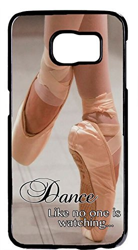 THE FORTRESS Premium -Ballet Ballerina Dancer Shoes Quote Rubber Silicon Black Case for Samsung Galaxy S8 PLUS ships next day from USAThe perfect blend of minimalism and shock absorbtion