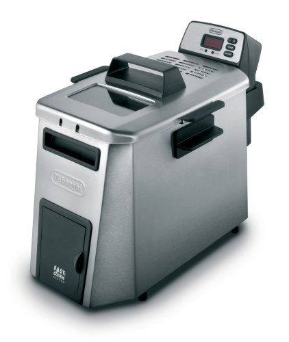 DeLonghi D24527DZ Dual Zone 3-Pound-Capacity Deep Fryer