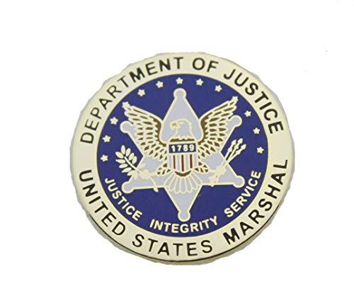 US Marshal Seal Lapel Hat Pin