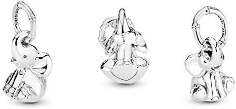 Pandora Jewelry Elephant Dangle Sterling Silver Charm