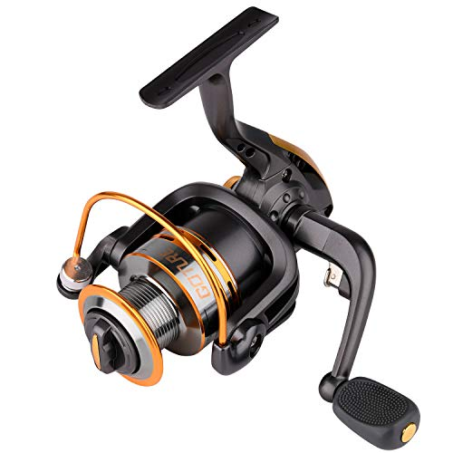Goture Spinning Fishing Reel Metal Spool 6bb for Freshwater...