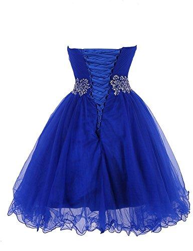 Kleid Kurz Auschnitt Burgund Herz Elegantes ärmellos Abendkleid Ballkleider Aiyana Party Cocktail 4XPzqwE