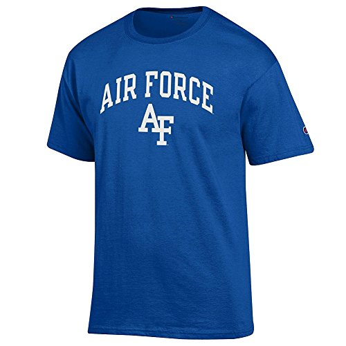 - Elite Fan Air Force Falcons Men's Short Sleeve Arch Tee Shirt, Royal, XX Large