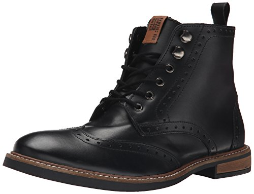 Ben Sherman Men's Birk Boot Winter Boot, Black, 10.5 M US - Ben Sherman Lace Shoes