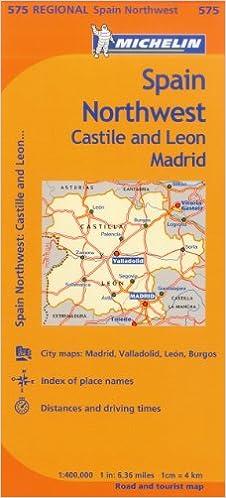 MAP-MICHELIN SPAIN NORTHWEST C Maps/Regional Michelin: Amazon.es: Michelin: Libros en idiomas extranjeros