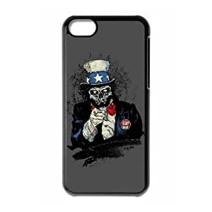 WJHSSB Skull Art 2 Phone Case For Iphone 5C [Pattern-4]