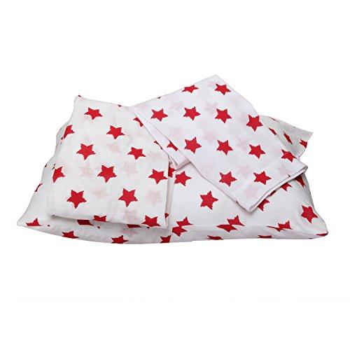 Bacati Stars Muslin Toddler Bedding