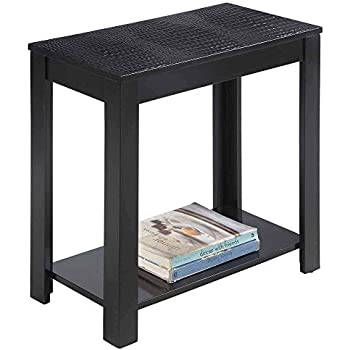 Amazon Com Crown Mark Pierce Chairside Table With