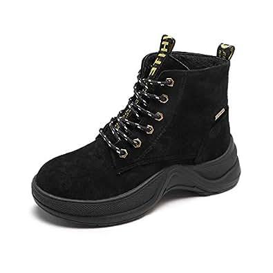 Amazon.com | HOESCZS Boots Martin Boots Autumn and Winter