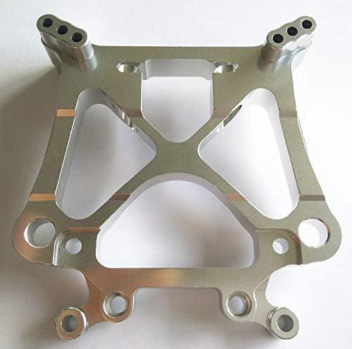 CrazyRacer Aluminum Front or Rear Shock Tower for HPI 1//8 Savage X XL Savage Flux 85234 Alloy Damper PLATE-1PC Slver