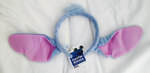 Disney Lilo and Stitch Alien Dog Stitch Ears Headband Head Band One Size Halloween Costume (Dog Ear Headband Costume)