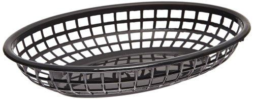 Bun Basket (Carlisle 033303 Polyethylene Oval Bread and Bun Basket, 2